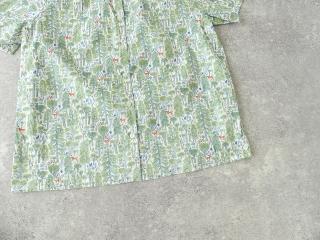 森のスタンドフリルシャツの商品画像20