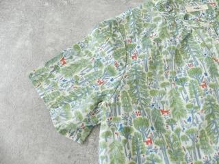 森のスタンドフリルシャツの商品画像23
