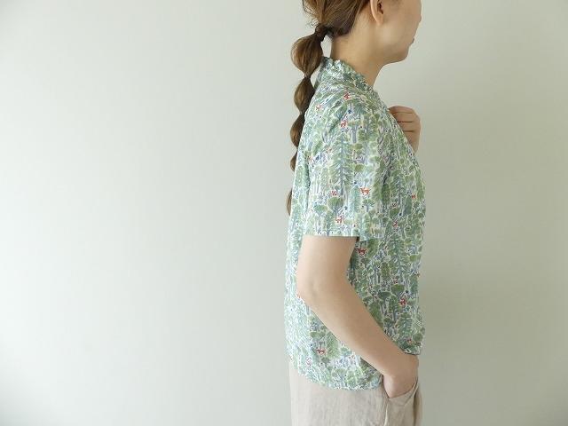 森のスタンドフリルシャツの商品画像5