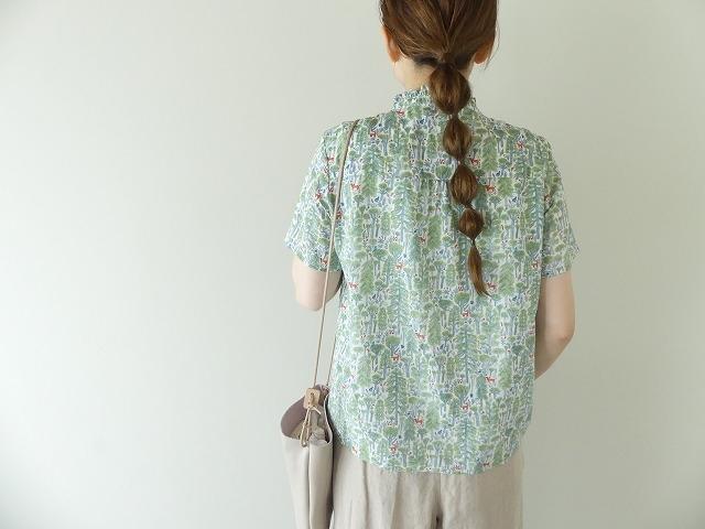 森のスタンドフリルシャツの商品画像6