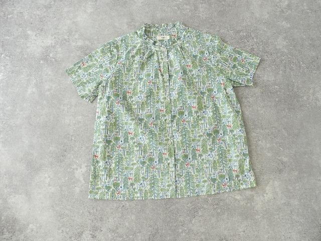 森のスタンドフリルシャツの商品画像7