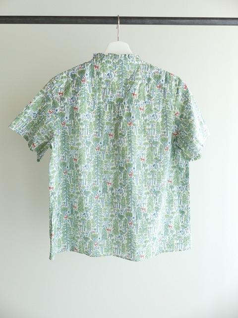 森のスタンドフリルシャツの商品画像8