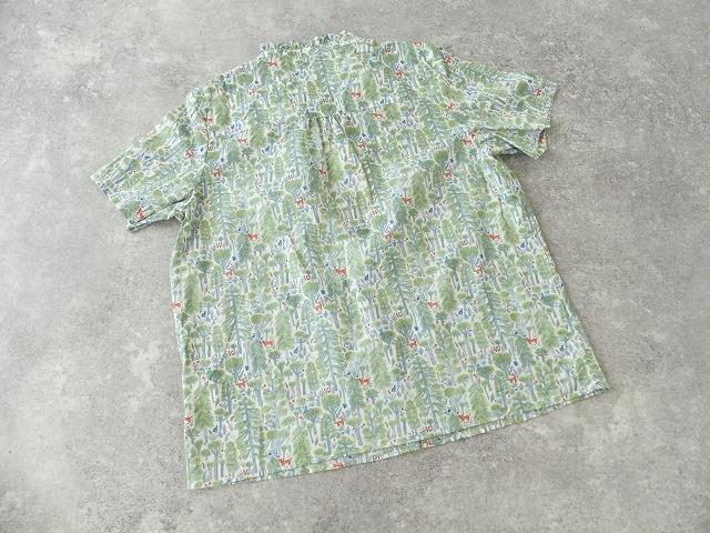 森のスタンドフリルシャツの商品画像9