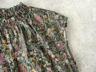 LIBERTY Wild Flowers リバティ ワイルドフラワーズ シャーリングネックワンピースの商品画像21