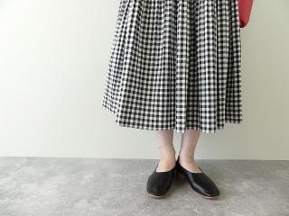 オーガニックエコギンガムプリーツスカートの商品画像15
