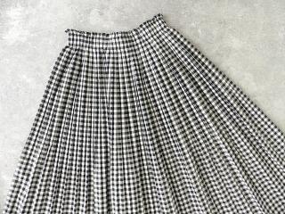 オーガニックエコギンガムプリーツスカートの商品画像16