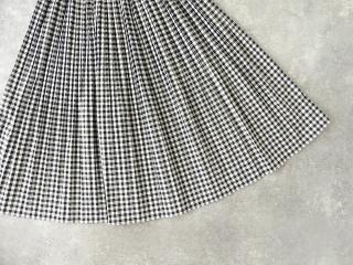 オーガニックエコギンガムプリーツスカートの商品画像17