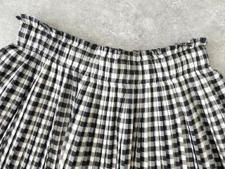 オーガニックエコギンガムプリーツスカートの商品画像18