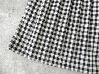 オーガニックエコギンガムプリーツスカートの商品画像20