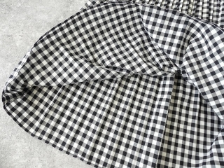 オーガニックエコギンガムプリーツスカートの商品画像21