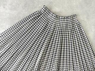 オーガニックエコギンガムプリーツスカートの商品画像23