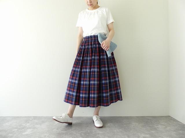 ビックチェックプリーツスカートの商品画像1