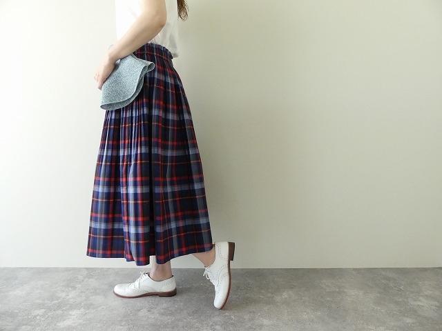 ビックチェックプリーツスカートの商品画像3