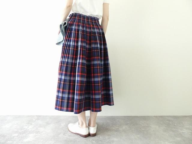 ビックチェックプリーツスカートの商品画像4