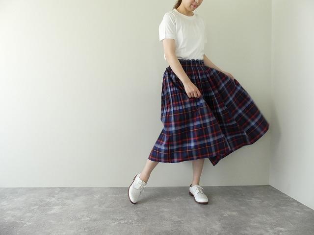 ビックチェックプリーツスカートの商品画像5
