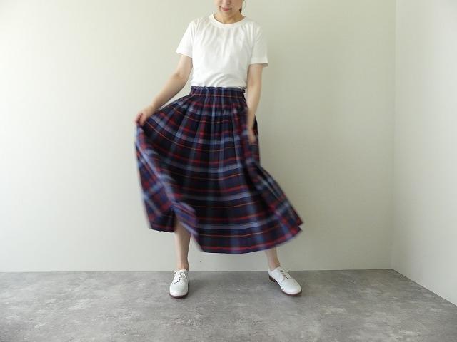 ビックチェックプリーツスカートの商品画像6