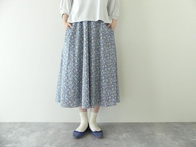 リバティエミリアスフラワーズ Emilia`s Flowers フレアースカート