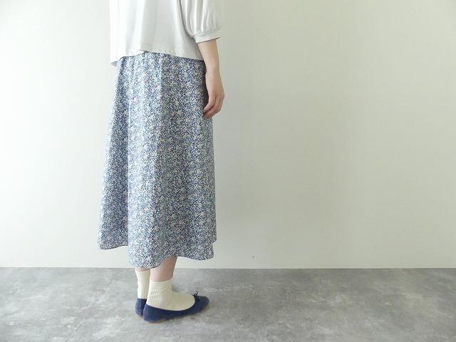リバティエミリアスフラワーズ Emilias Flowers フレアースカートの商品画像5