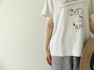 ハイゲージ天竺おじさん柄プリントTの商品画像15