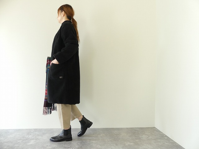 ARMEN(アーメン) NO COLLAR LONG COAT(NAM1972Y)