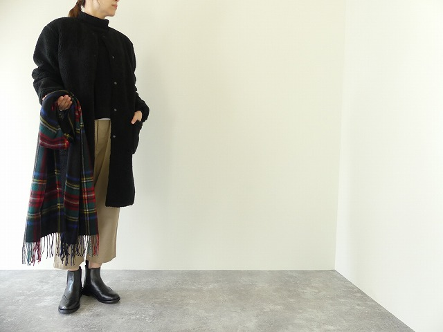 ARMEN(アーメン) NO COLLAR LONG COAT(NAM1972Y)(3)