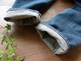 商品「【ご予約サイズあり】Veritecoeur(ヴェリテクール)玉縁ポケットストレートデニムパンツ(ST021)」の商品画像