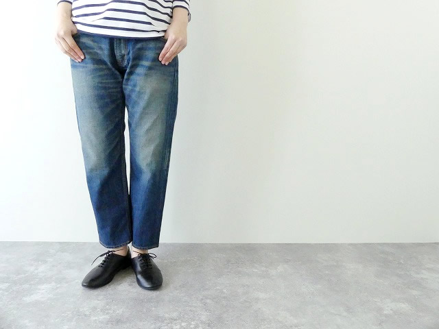 MidiUmi(ミディウミ) 4/5 length denim pants(2-71274)