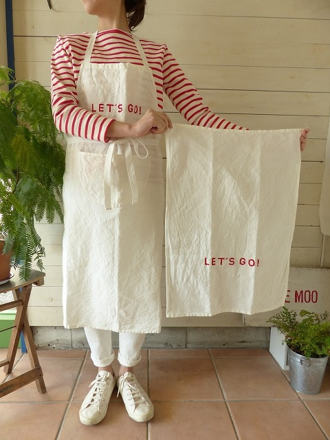 R&D.M(オールドマンズテーラー) LET`S GO KITCHEN CLOTH(OLD2444)(OLD2443)