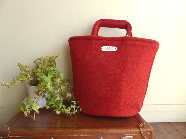 R&D.M(オールドマンズテーラー) RED TWEED MARCHE BAG Tall(OLD2797)