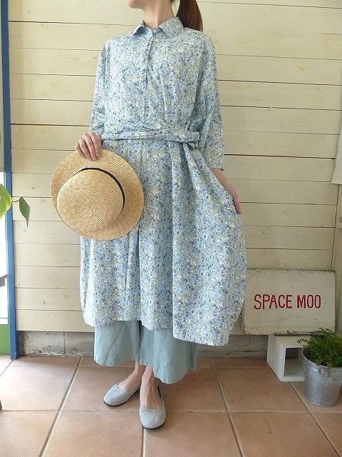 R&D.M(オールドマンズテーラー) CHARLIE BELL LOAN R/COLLAR DRESS(OLD2975)