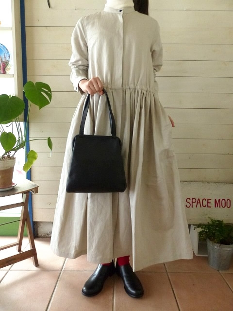 R&D.M(オールドマンズテーラー) PIMA C/L FRONT OPEN DRESS(OLD3206)