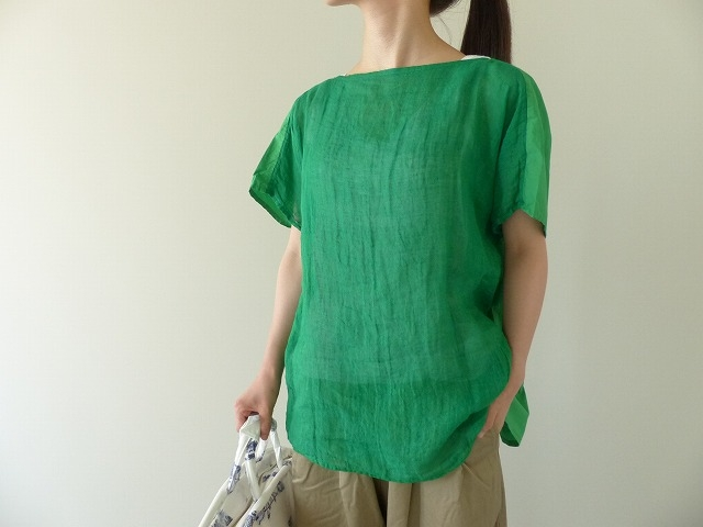 R&D.M(オールドマンズテーラー) G/D LINEN GAUZE PULL OVER SHIRT(OLD3655)(2)