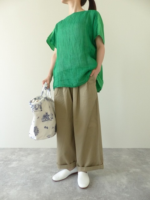 R&D.M(オールドマンズテーラー) G/D LINEN GAUZE PULL OVER SHIRT(OLD3655)(3)