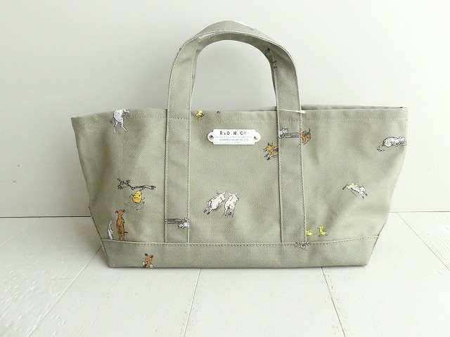 R&D.M(オールドマンズテーラー) FARMERS FAMILY TOTE BAG(S)(OLD3965)(2)