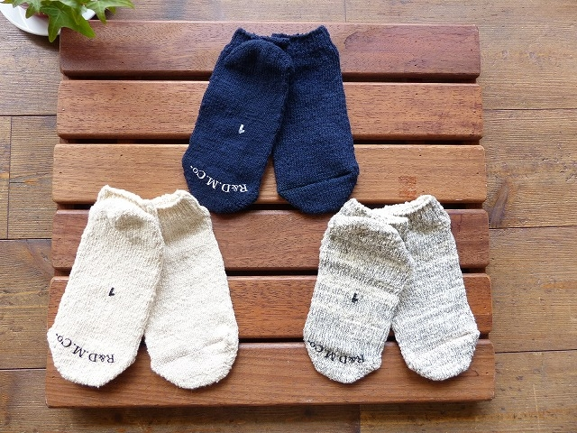 R&D.M ガラ紡 ANKLE SOCKS(OLD1614)